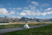 Iceland elopement by Renee Song Photography