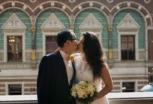 Copenhagen Cityhall wedding, a beautiful  elopement in Copenhagen by Renee Song Photography