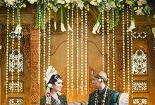 LIA & IRZAN - WEDDING RECEPTION by Promessa Weddings