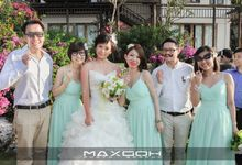 Yung & Kaiser Wedding Ceremony by MaxGoh Photography