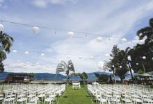 Lambok & Sarah - A Beautiful Lakeside wedding by Silintong Hotel, Samosir