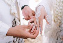 Akad Nikah Dhiyah & Wahyu by LAKSMI - Kebaya Muslimah & Islamic Bride
