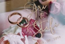 The Wedding Of Ari & Stefiana by de_Puzzle Event Management