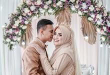 Wedding Haibah & Hasan by A Story