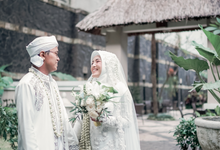 Wedding of Ihsan & Ratu by A Story