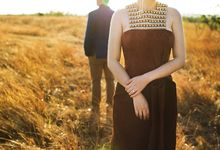 A Sunset to Remember - The Pre-Wedding of Brian & Gabby by Paulus by Axioo