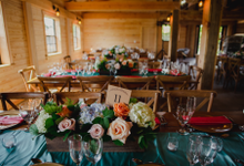 Wedding and decorations  by A Treasured Moment By Martha LLC