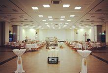 Indoor Wedding Event by Dekko Tentage Pte Ltd