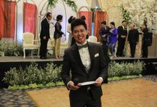 Mc Entertainment Wedding Sheraton Gandaria - Anthony Stevven  with Double V Entertainment Jakarta by Anthony Stevven