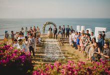 Wedding at Bayu Sabbha in Uluwatu by Bali Tie d' Knot