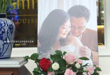 Indra & Voren's Chinoiserie Wedding by Buttercup Decoration