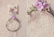 Fairy crown by Marie by Belle Pivoine