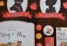 Willy & Olivia Wedding Shower by Cana Designette