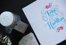PINKISH FLORAL by natanata paperie