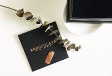 David 18ct Gold Custom Pendant by AEROCULATA