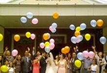 THE WEDDING OF ANTON & LENNY / 17.01.15 / ROSE GARDEN RESTAURANT, SLIPI, JAKARTA by AS2 Wedding Organizer