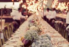 Centrepieces by Bali Villa Weddings and Events