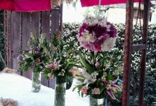 flower package by BALI SAINT FLORIST&wedding decoration