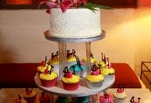 Wedding Cake by Bali Villa Weddings and Events