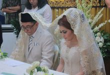 WITA & ARIF by vivi wedding make up
