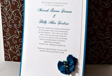 Custom Invitaitons by Ink and Elegance