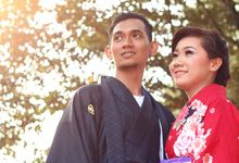 Foto Prewedding Iqbal & Diana by Foto Kimono