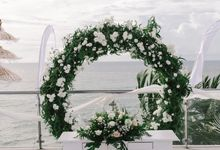 Wedding of Alan & Julian by Klapa New Kuta Beach
