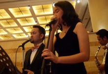 Wedding Gig at Sailendra  JW Marriot Hotel by Crescendo Music Entertainment