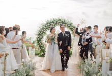 The Wedding of Renata & Andri by Bali Eve Wedding & Event Planner