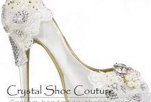 Crystal shoe couture by Crystal shoe couture