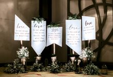 The Engagement of Two Creative People by Elior Design