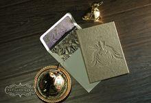 Alana & Indra by Papillon Card