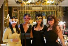 Masquerade Party for Mr Tom Soulsby 50th Birthday by Villa Lago di Como