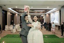 Wedding of novia and jongwoncho by Esselia_Atelier