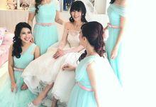 BRIDESMAID HAIRDO - AUDREY by Priska Patricia Makeup
