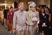 anisa & haikal wedding reception by Our Wedding & Event Organizer