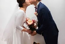 Andrew & Cara (St. Joseph's Church & Jewel Changi Airport) by GrizzyPix Photography