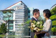 Pre-Wedding Shoot at SMU by GrizzyPix Photography
