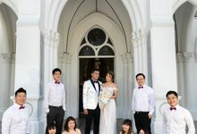 Adrian & Tina Actual Day by Chijmes Hall by Watabe Singapore Pte Ltd