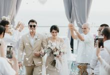 The Wedding of Ana Octarina & Andi Baron by Bali Wedding Specialist