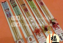 Customized Wooden Chopstick (1 pasang) by Chopstickworld.id