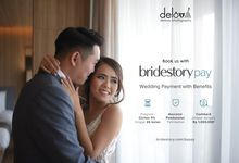 Book us with Bridestory Pay by Delova Photography