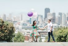 A Sunny San Francisco California Engagement Session by Foreveryday Photography