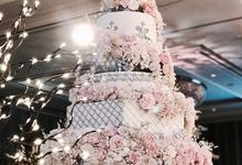 7 & 8 tiers Wedding Cake by LeNovelle Cake