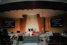 Holy Matrimony & Reception Abraham & Chrisanthy by WYMM Organizer