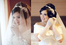 Adrian & Widi Wedding by Marcelline Vony MUA