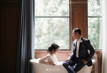 The Pre Wedding of Andania Suri & Ian Oktianur by Amorphoto