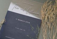 Wedding Invitation - Acrylic Dark Purple by Kanoo Paper & Gift