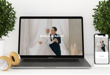 WEDDING WEBSITE - ARMY & DHILA by Our Days & Co - Wedding Website Design