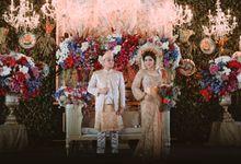Malay-Infused Palembang Wedding by Bena